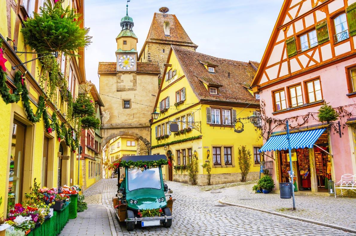 Best hidden gems in Germany - Rothenburg ob der Tauber - Copyright MarinaDa - European Best Destinations