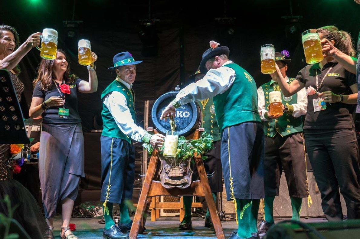 Best sustainable events in Europe - Lasko beers and flowers festival  - Copyright Lasko.si - European Best Destinations