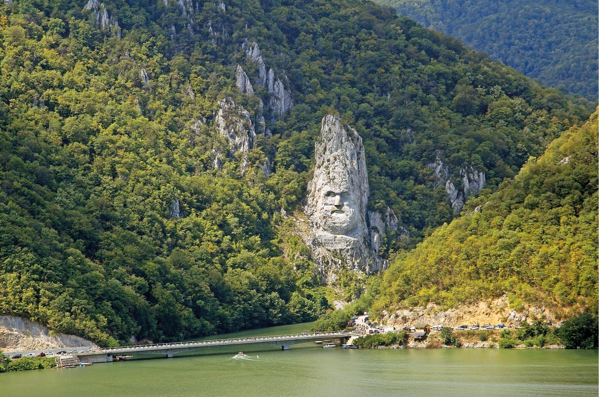 Dacian King Danuber Gorges - Best Statues in Europe - Copyright Pecold Shutterstock.com - European Best Destinations