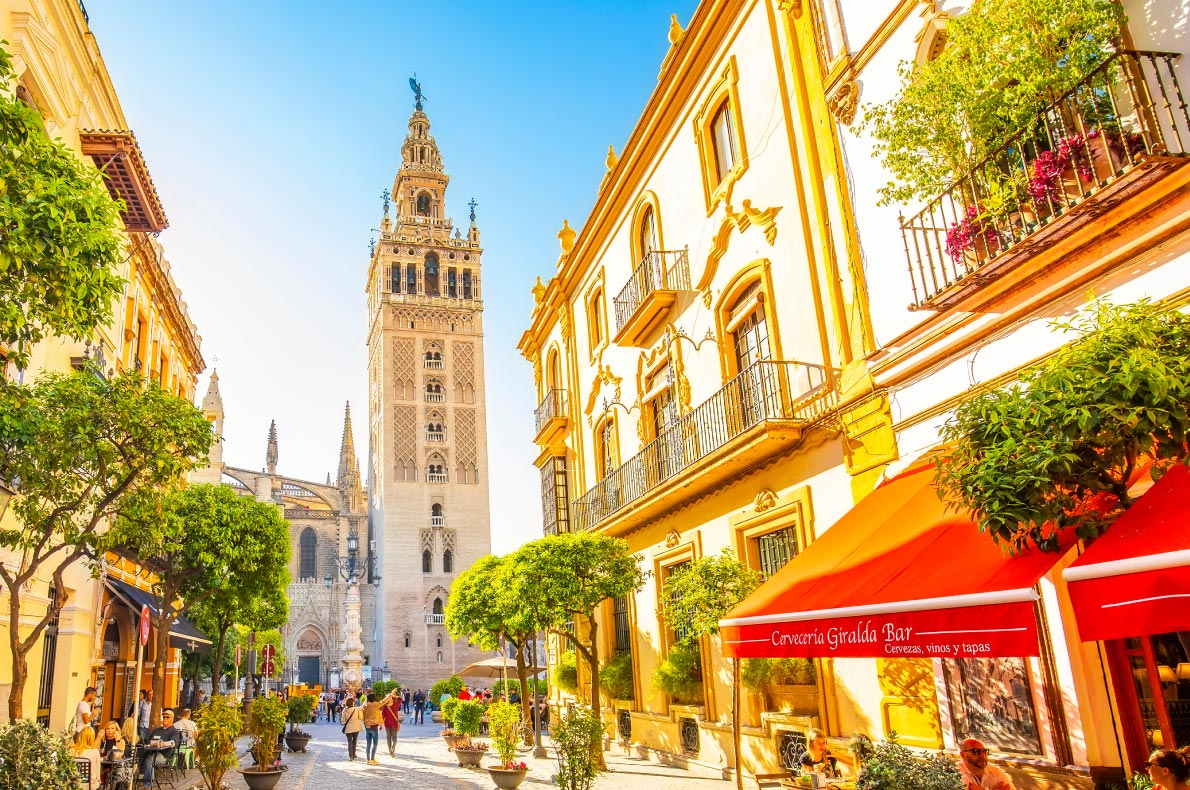 Covid-19-Vaccine-Passport-Europe-Best-destinations-for-vaccinated-travellers-Sevilla-Spain
