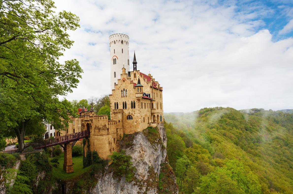 Best Castles in Germany - Lichtenstein Castle  - Copyright Sergey Novikov  European Best Destinations