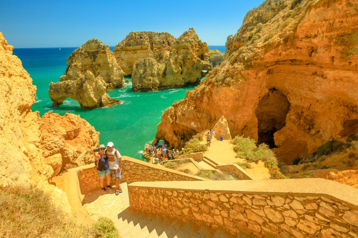 Nature wonders in Portugal - Ponta da Piedade  - Copyright  Benny Marty  - European Best Destinations