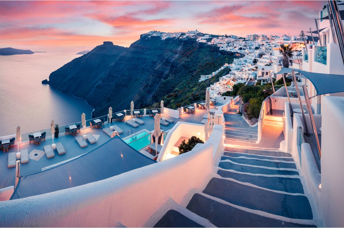 Best Islands in Greece - Santorini Island copyright  Andrew Mayovskyy   - European Best Destinations