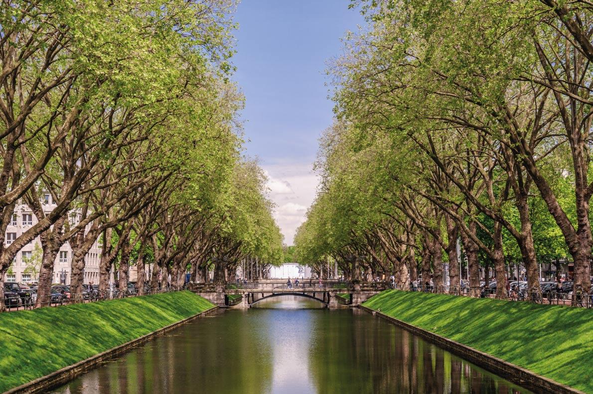 Quietest destinations in Europe -  Dusseldorf Copyright Andrey Shcherbukhin