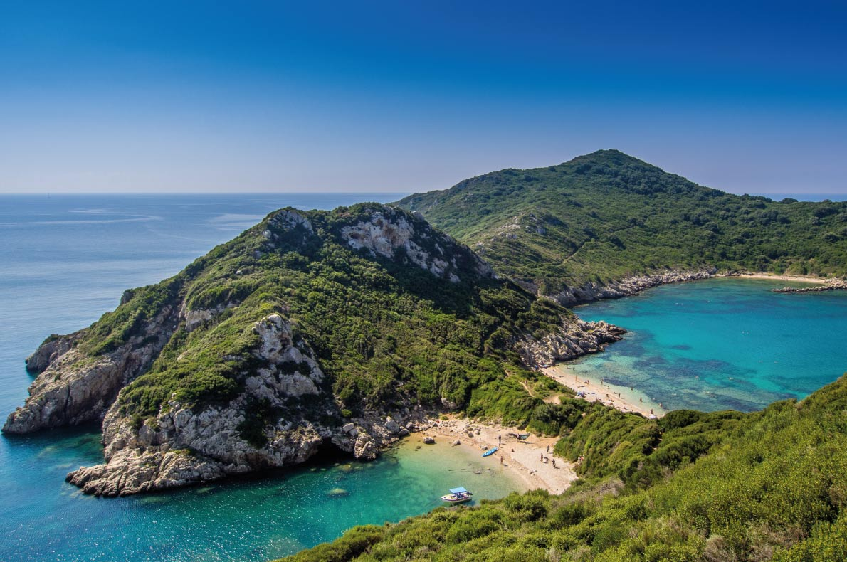 Porto Timoni Beach in Corfu  - Best beach in Europe - Copyright KarlosXII