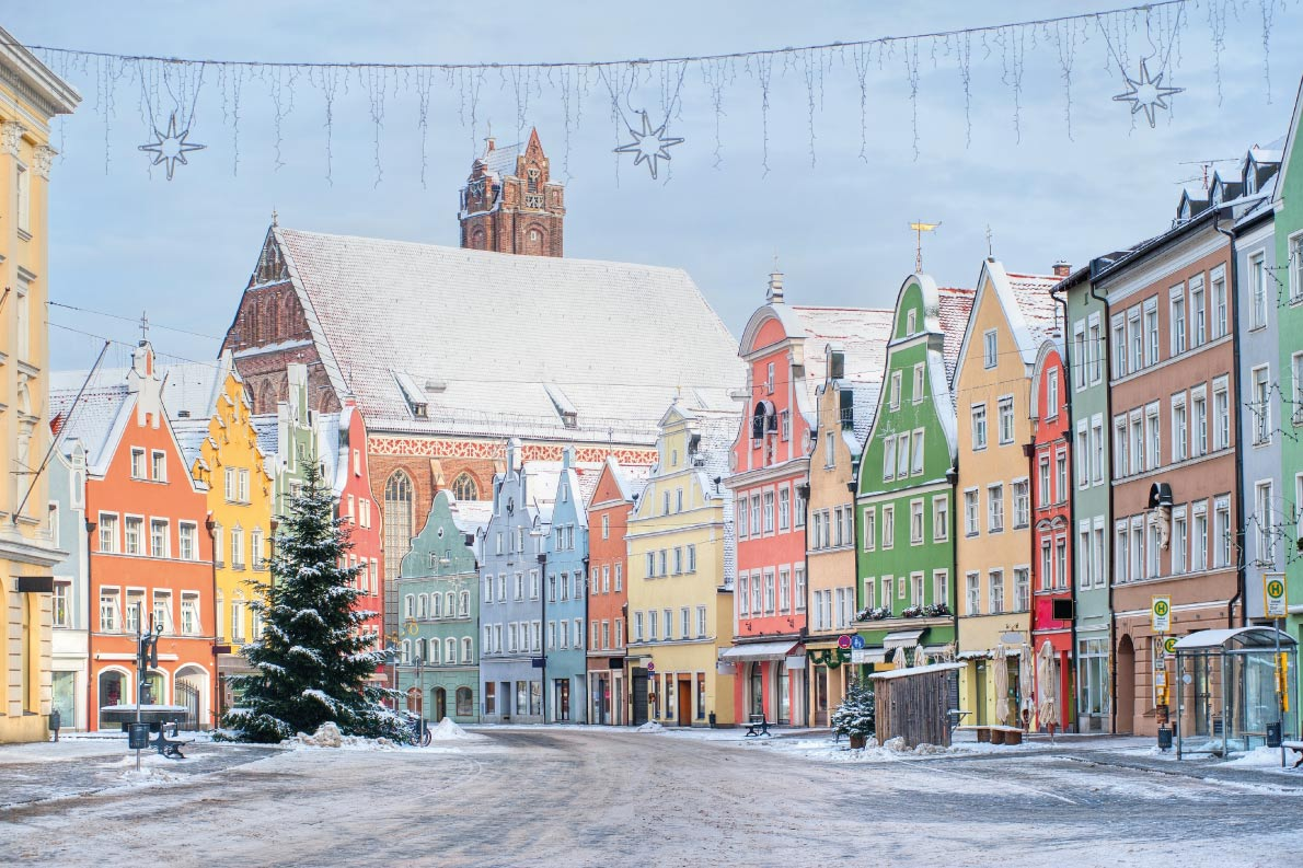 Colorful destinations in Europe - Landshut near Munich  - Best colorfull destinations in Europe - Copyright Boris Stroujko - European Best Destinations