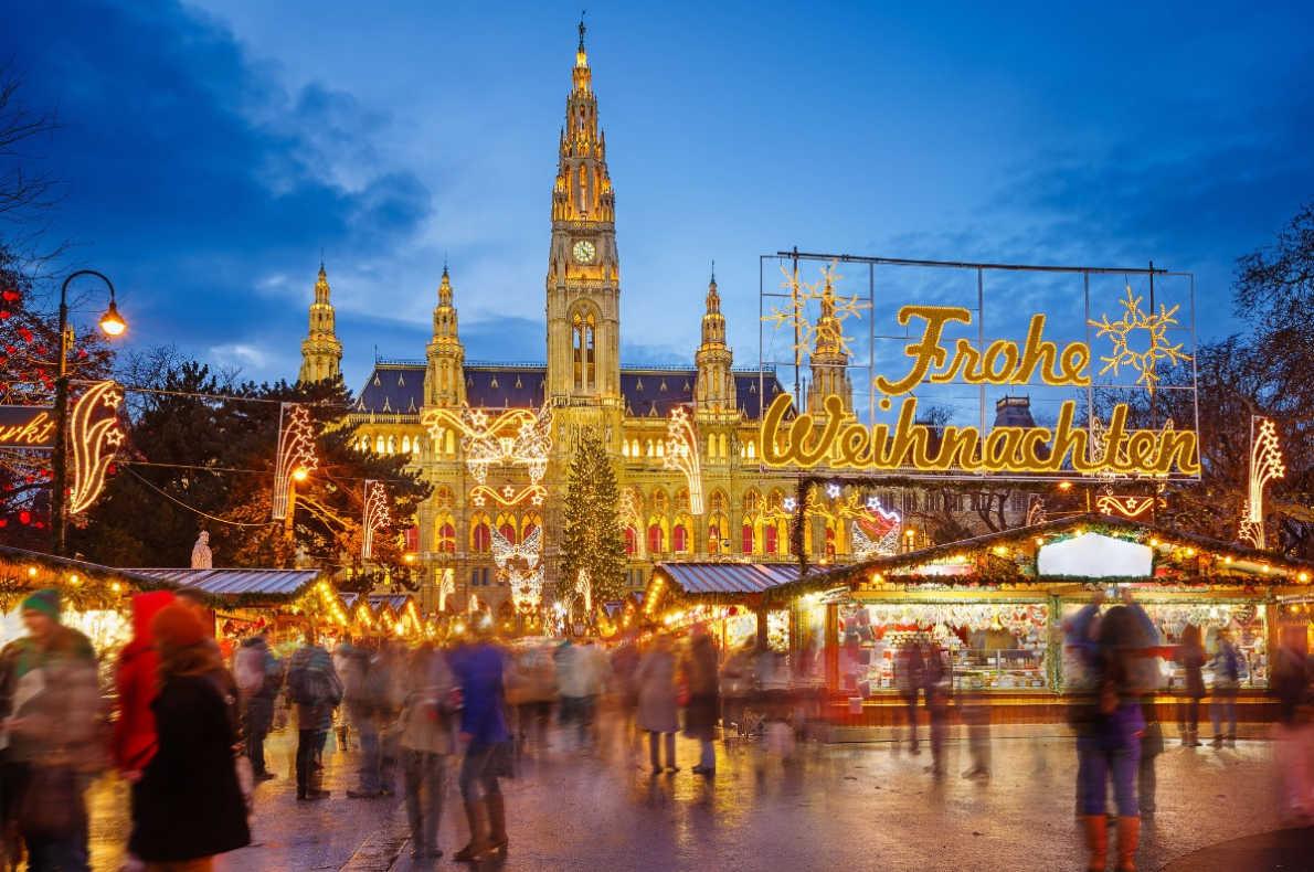 Best Christmas Markets in Austria - Vienna Christmas Market - Copyright Vienna.info - European Best Destinations