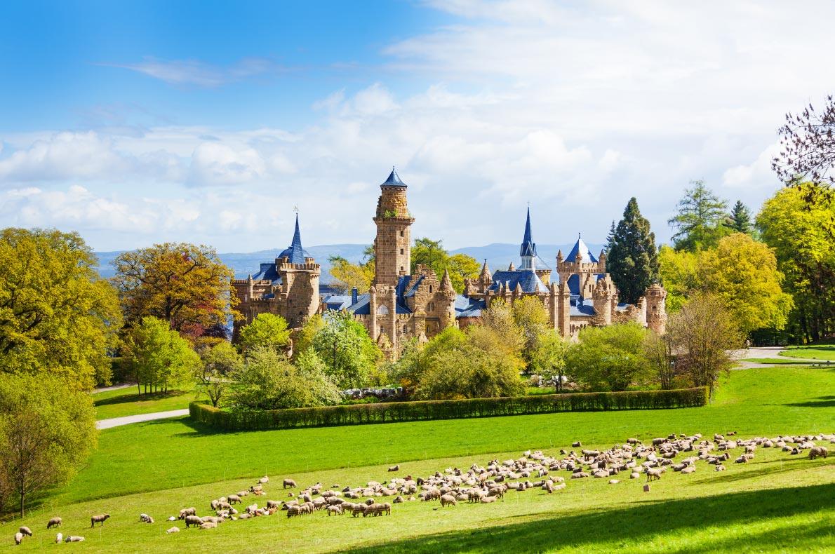 Best Castles in Germany - Lion Castle Lowenburg copyright Sergey Novikov - European Best Destinations