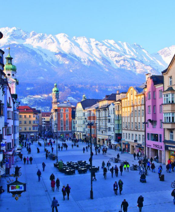 Innsbruck-romantic-destination-Austria