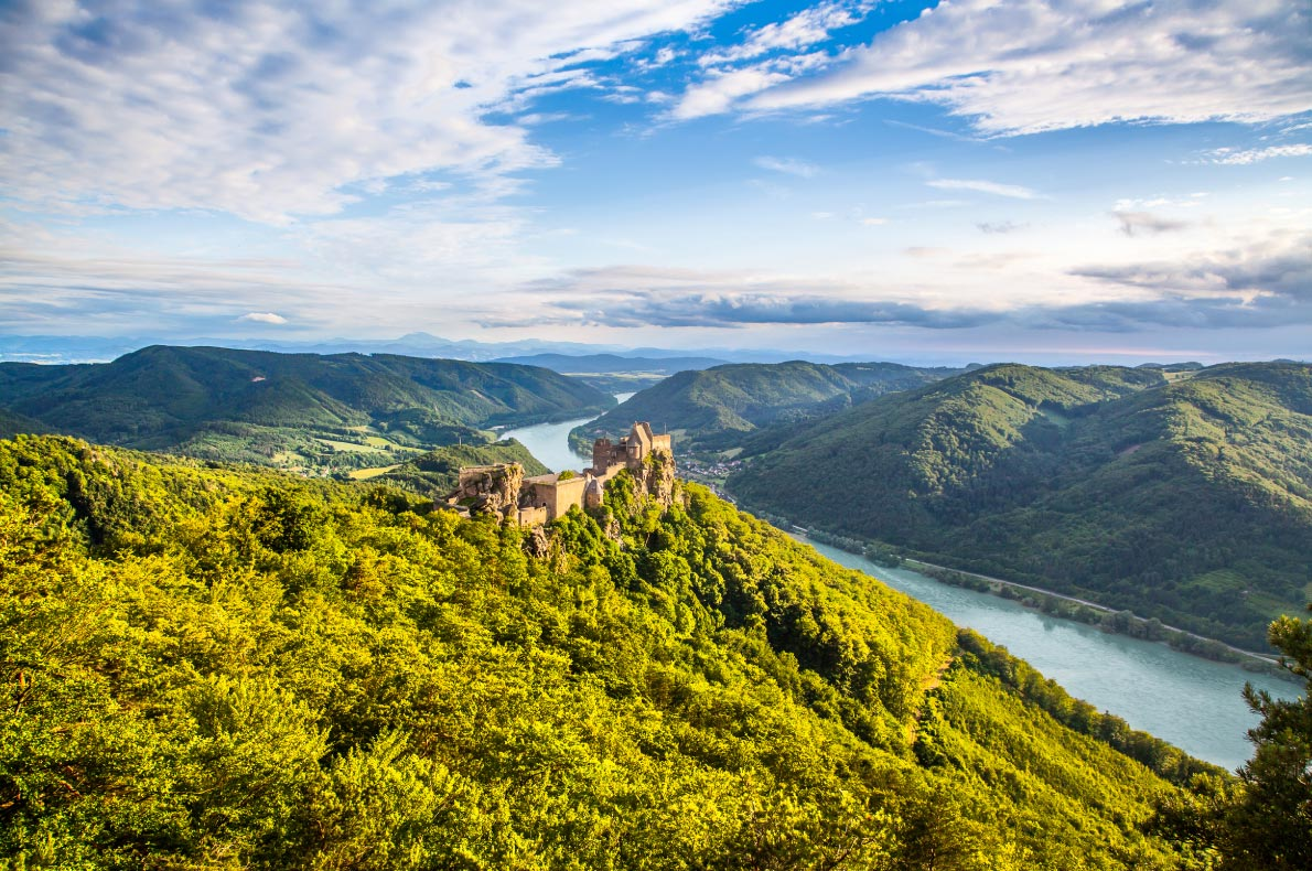 Best Castles in Austria - Aggstein Castle - Copyright Canadastock - European Best Destinations