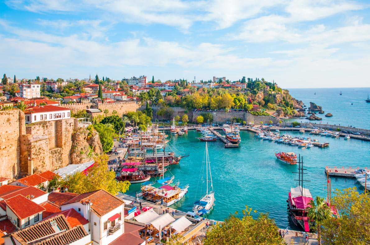 Best places to visit in Turkey - Antalya copyright muratart