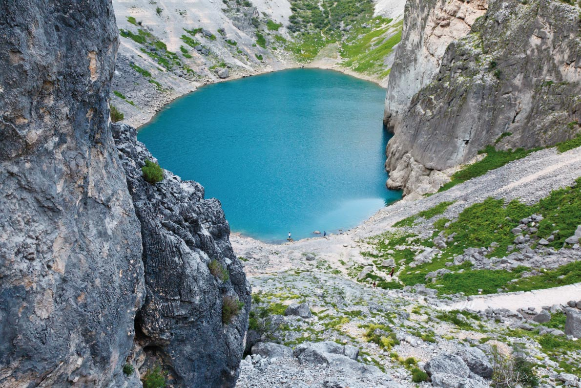 Imotski Blue Lake Best natural pools in Europe Copyright Anshar - European Best Destinations