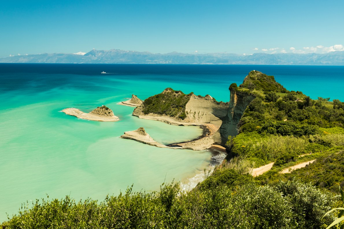 Best beaches in Greece - Cape drastis Corfu Island copyright Yannik Photography - European Best Destinations
