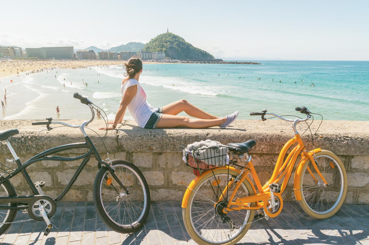 Best things to do in Spain - San Sebastian Bike tour copyright  Fominayaphoto - European Best Destinations