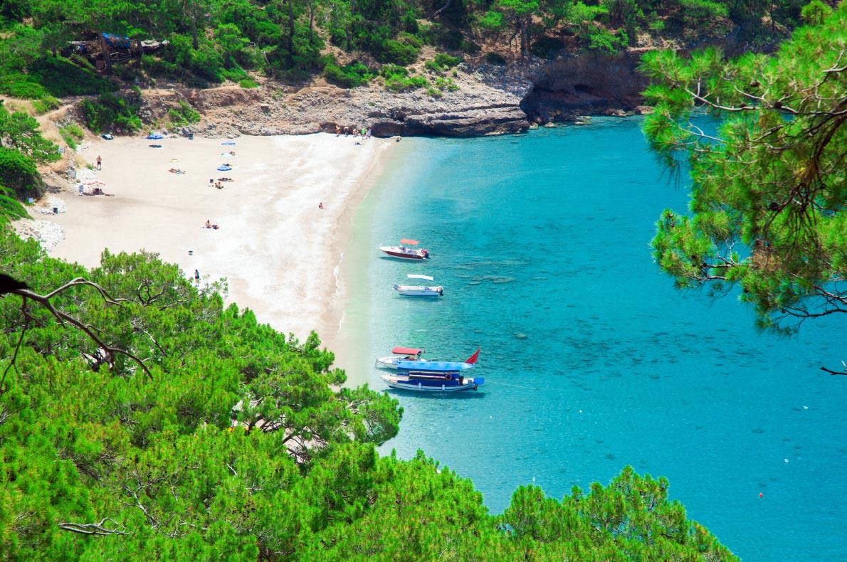 Best beaches in Turkey - Kabak beach - copyright Ozerov Alexander