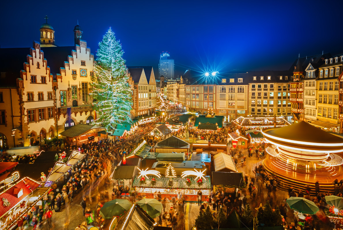Franckfurt - Best Christmas Tree in Europe - Copyright S.Borisov - European Best Destinations