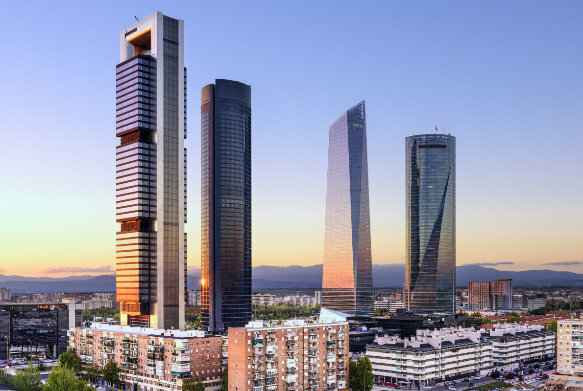 Tallest buildings in Europe - Torre Foster in Madrid Copyright  ESB Professional -- European Best Destinations