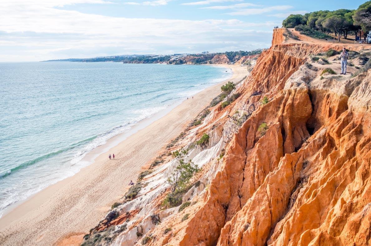 Nature wonders in Portugal - Praia da Falésia - Copyright Sopotnicki   - European Best Destinations
