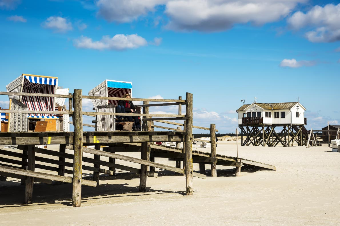 Best beaches in Germany - St Peter Ording - Copyrignt Wolfgang Zwanzger - European Best Destinations