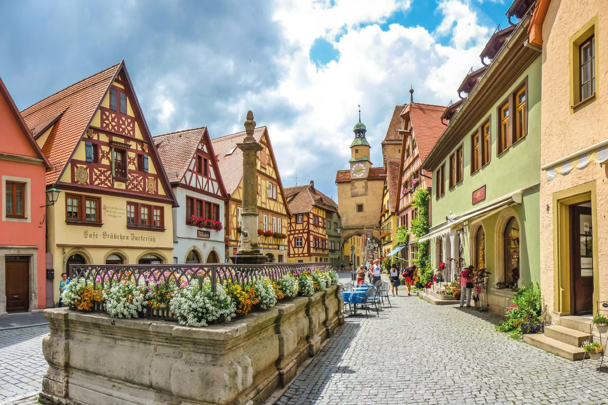 Colorful destinations in Europe -Rothenburg Ob Der Tauber - Best colorfull destinations in Europe - Copyright canadastock - European Best Destinations