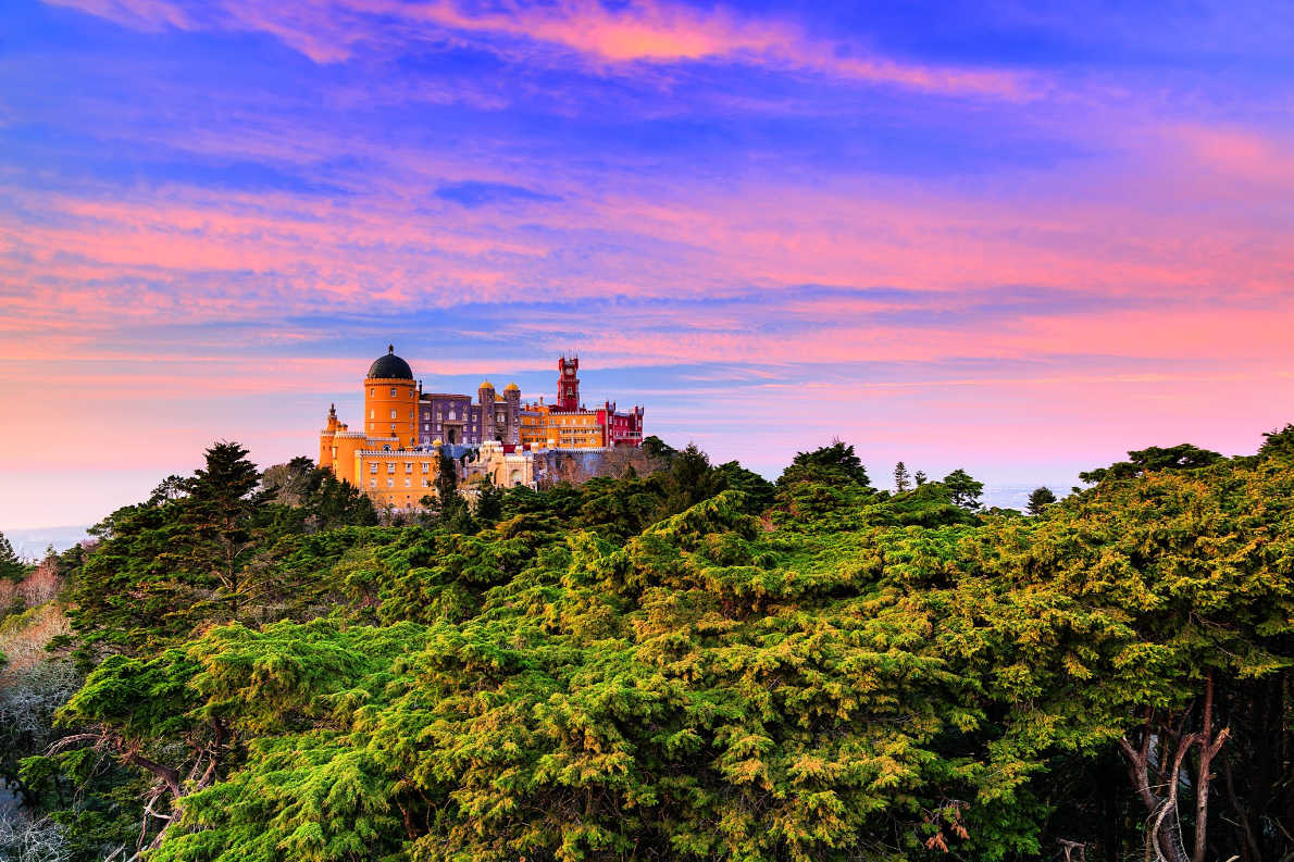 Sintra Pena Palace - Best destinations for a wedding proposal - Copyright  Taiga - European Best Destinations