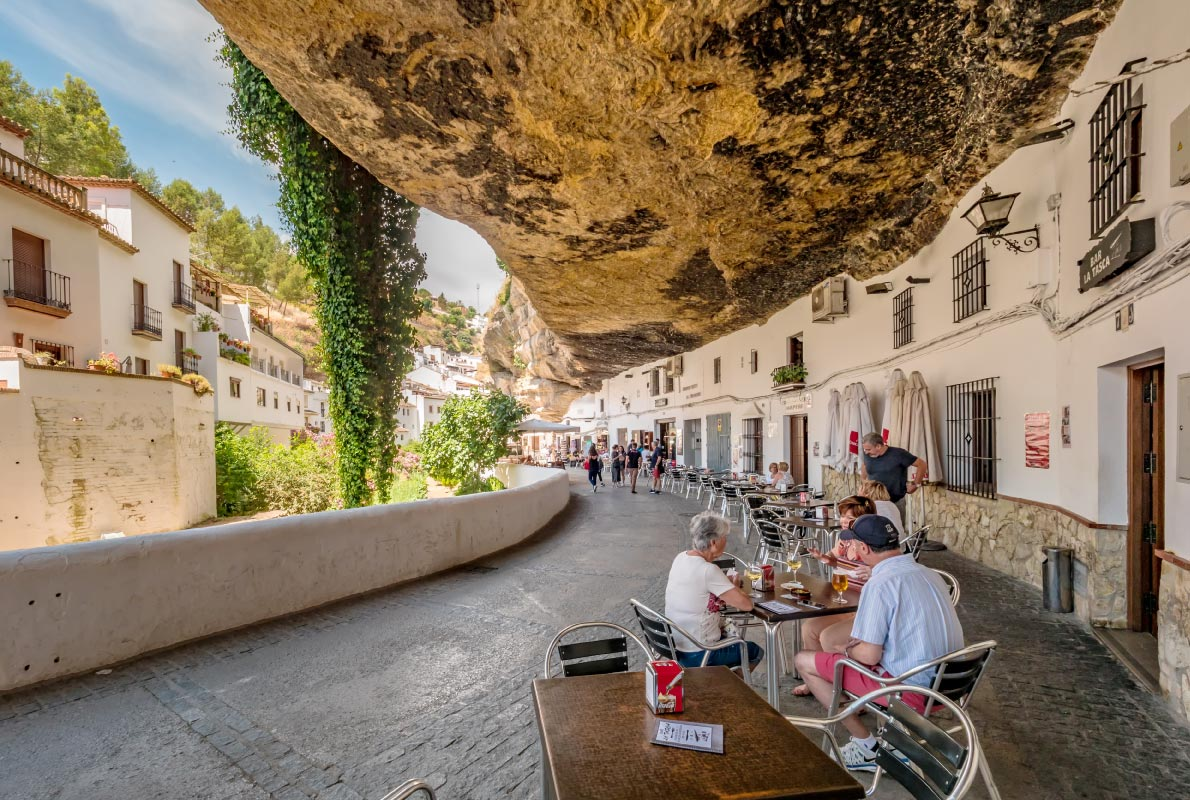 Setenil de las Bodegas - Best hidden gems in Europe - Copyright elRoce / Shutterstock.com