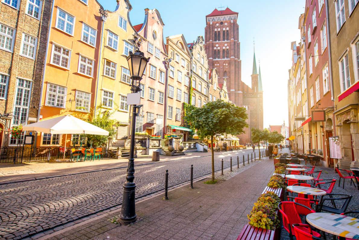 Coronavirus Safest  Destinations in Europe - Gdansk coronavirus copyright  RossHelen - European Best Destinations