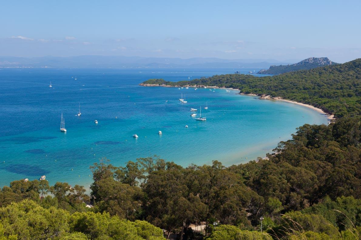 Best beaches in France - Plage de Notre-Dame à Porquerolles Copyright  Samuel Borges Photography   - European Best Destinations