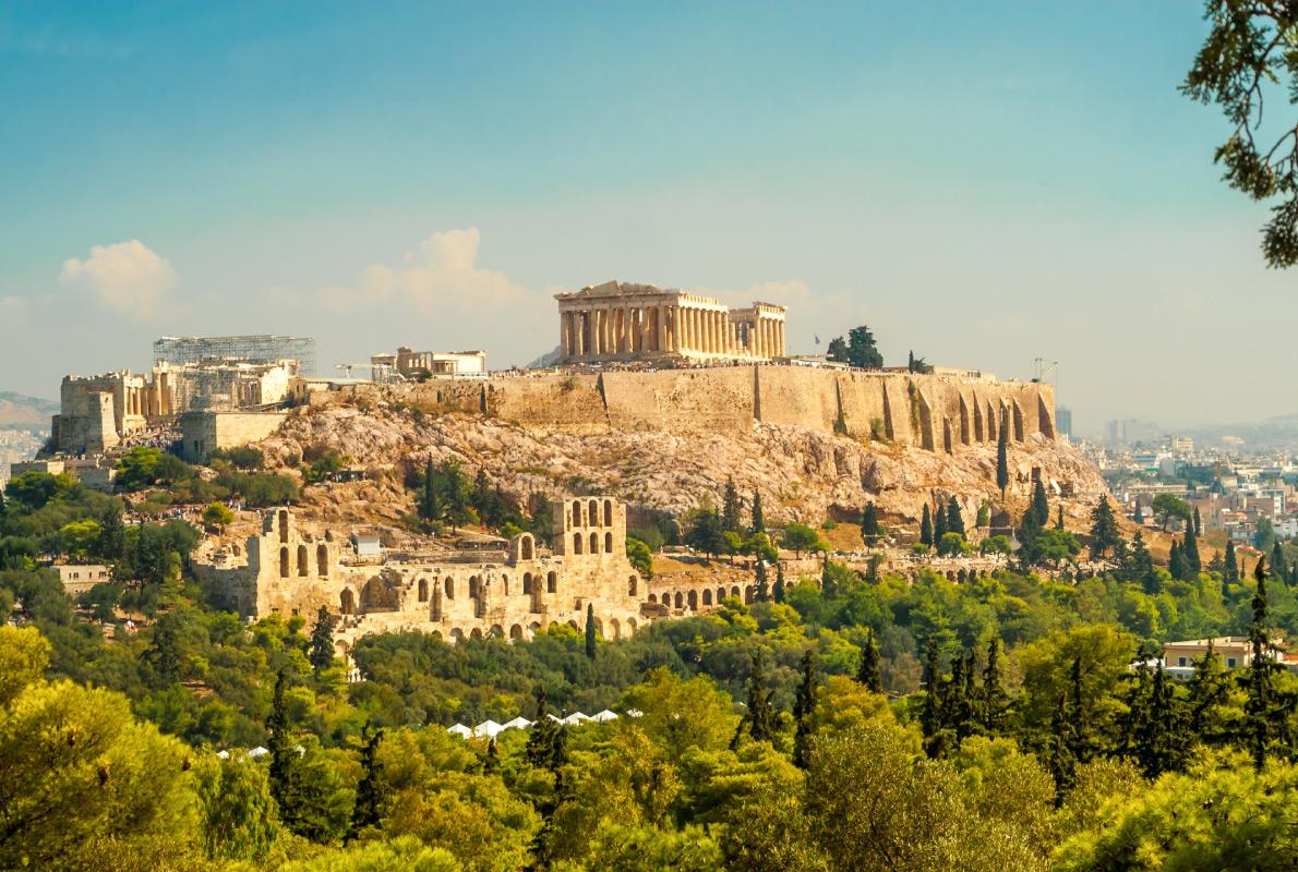 Athens - Best Cruises destinations in Europe - Copyright milosk50 - European Best Destinations