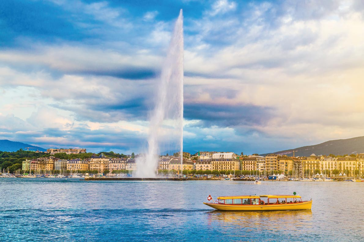 Best fountains in Europe - European Best Destinations - Geneva Jet d'eau Copyright  canadastock