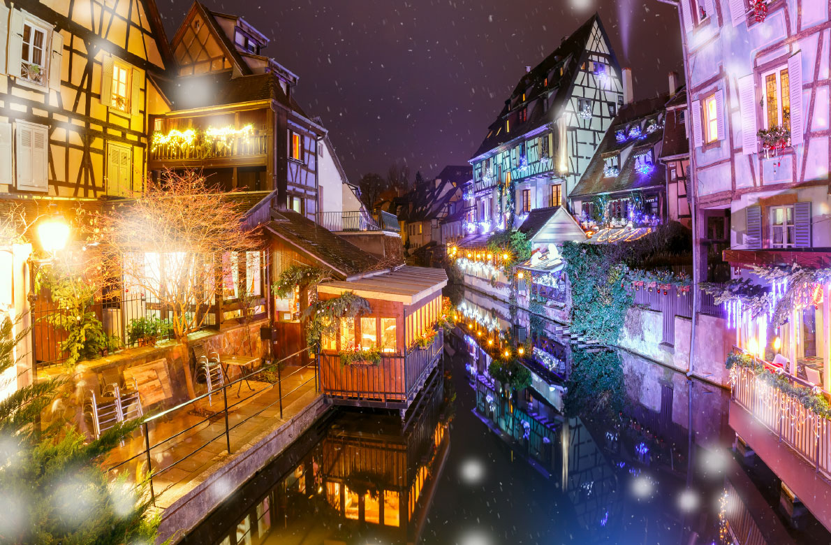 Christmas Market In Colmar Copyright