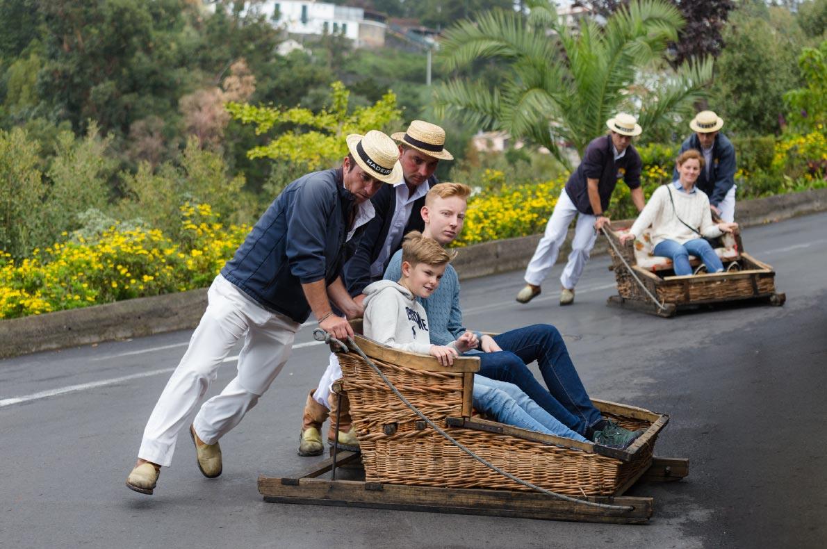 Madeira with kids - Monte - Sledge - Childrens - Copyright Cicero Castro