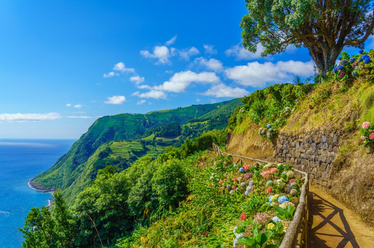 Covid-19-Vaccine-Passport-Europe-Best-destinations-for-vaccinated-travellers-Azores-Portugal