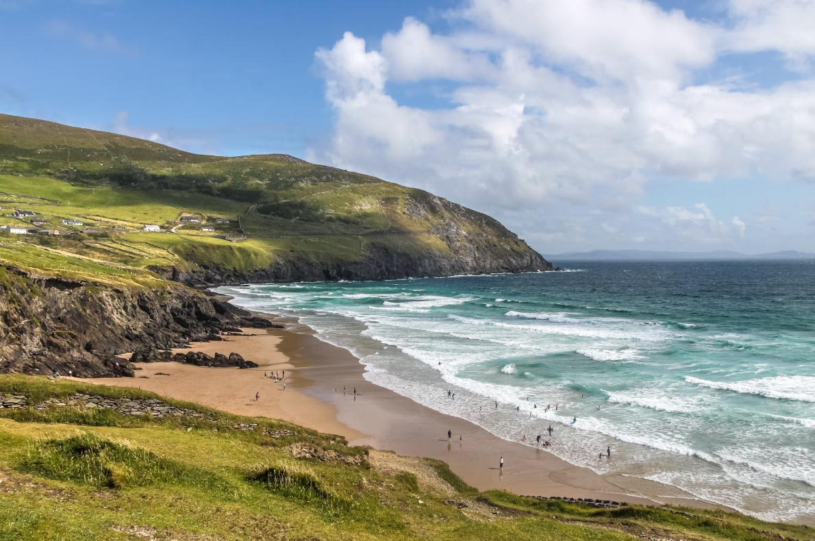 Best beaches in in Ireland - Slea head beach copyright Roscommon  - European Best Destinations