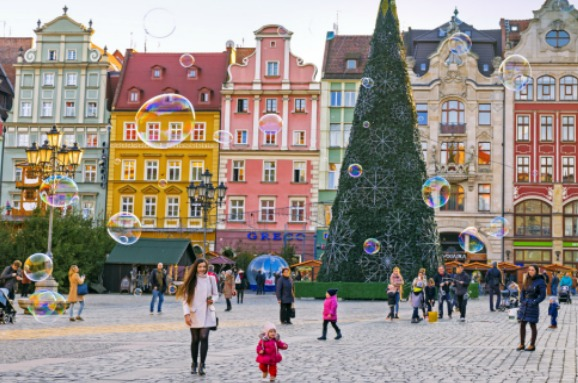 Bubbles in Wroclaw