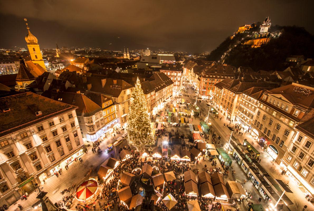 Graz Christmas Market, Austria - Copyright Graz Tourismus / Foto Fischer