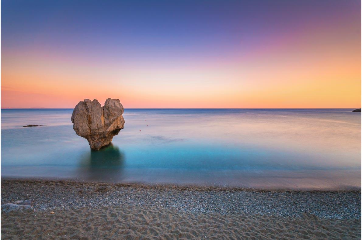 Best natural wonders in Greece - Preveli Heart Rock copyright  Georgios Tsichlis - European Best Destinations