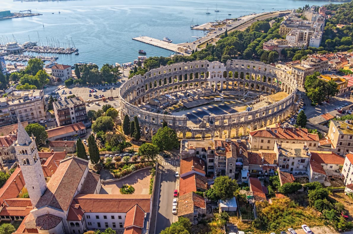 Pula - Best Destinations for fall Autumn in Europe - Copyright OPIS Zagreb - European Best Destinations