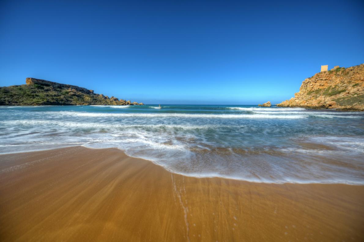 Riviera Beach Malta - Coronavirus Safest beaches in Europe