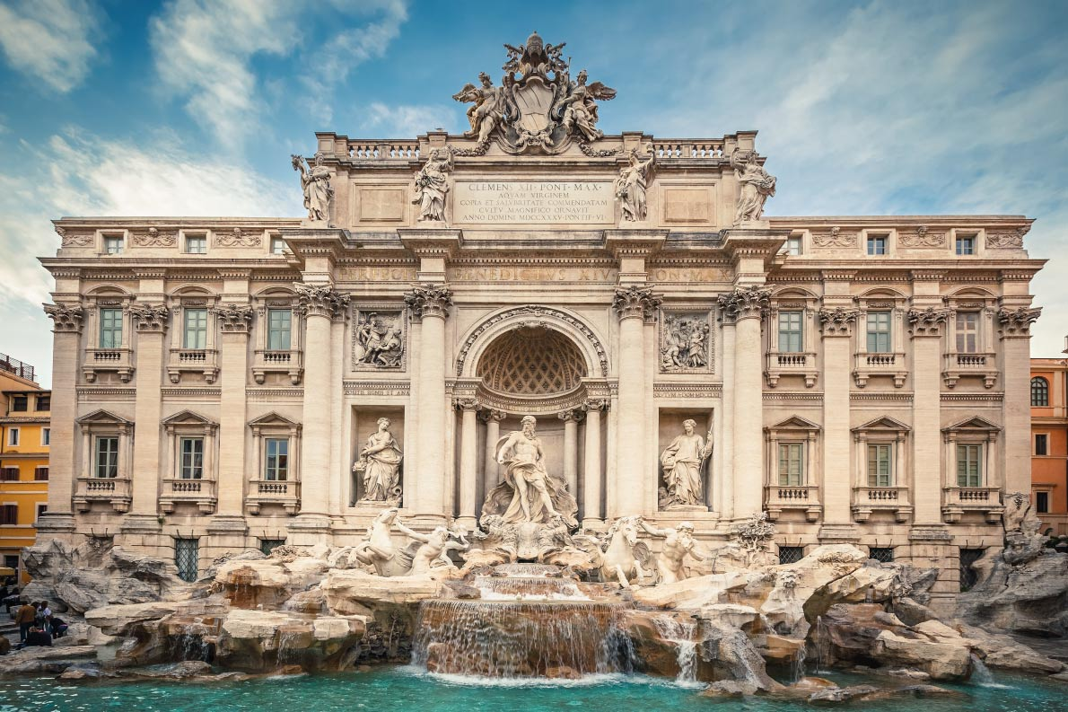 Bestfountains in Europe - Fountain di Trevi in Rome, Italy Copyright S.Borisov - European Best Destinations