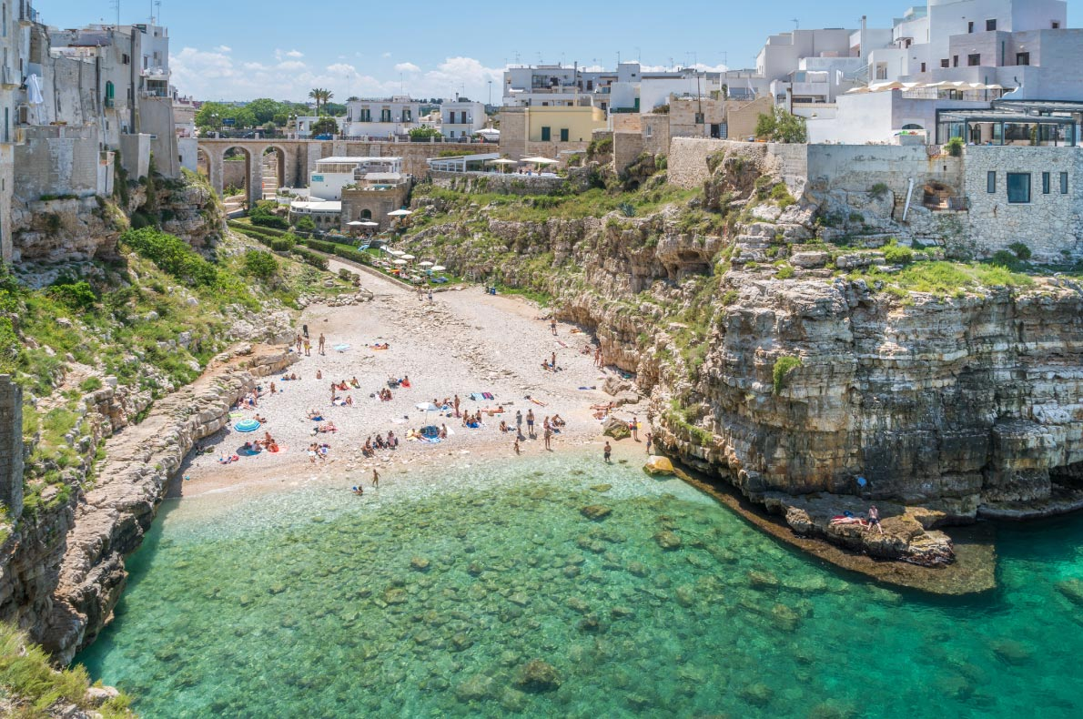 Best beaches in Italy - Polignano a Mare Copyright  Stefano_Valeri - European Best Destinations