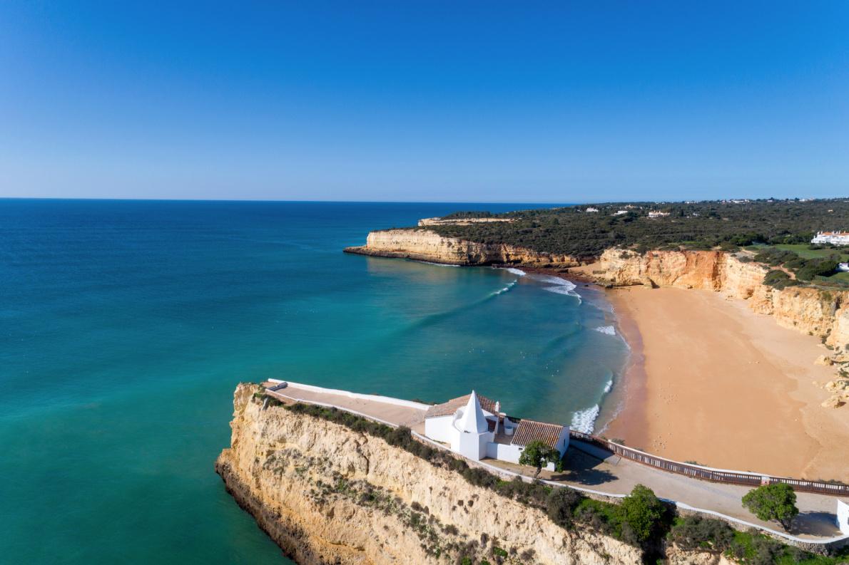Safest beaches in Europe - Praia Nova - Porches - Lagoa - Algarve - Portugal