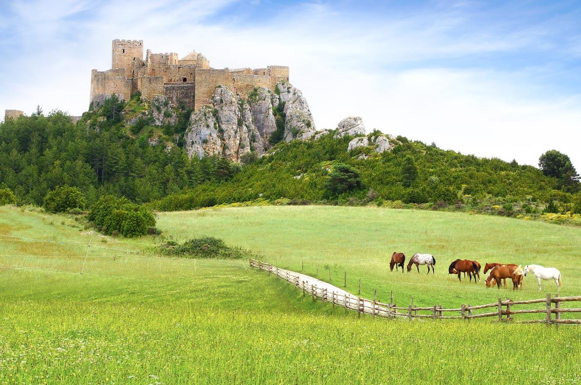Best castles in Spain - Loarre Castle Copyright  Igor Plotnikov - European Best Destinations
