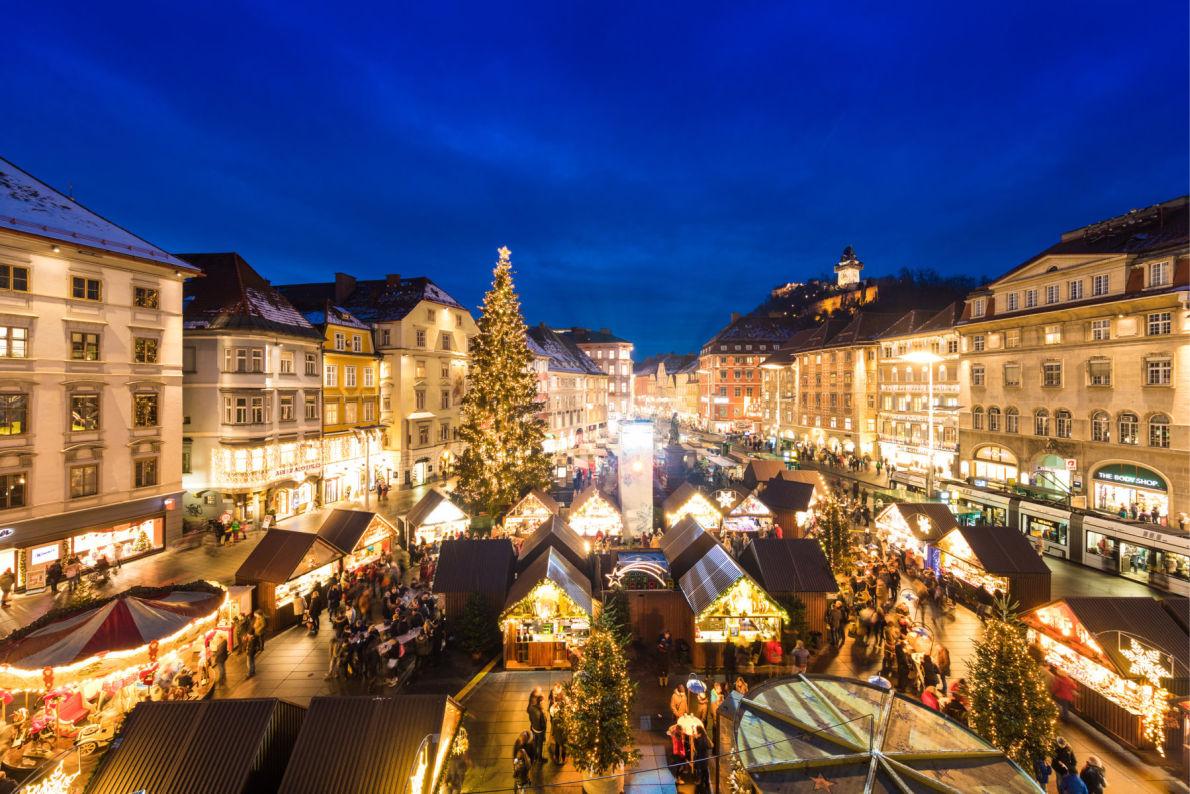 Covid 19 Safest Christmas Markets in Europe - Graz Christmas Market - Copyright Harry Schiffer  - European Best Destinations