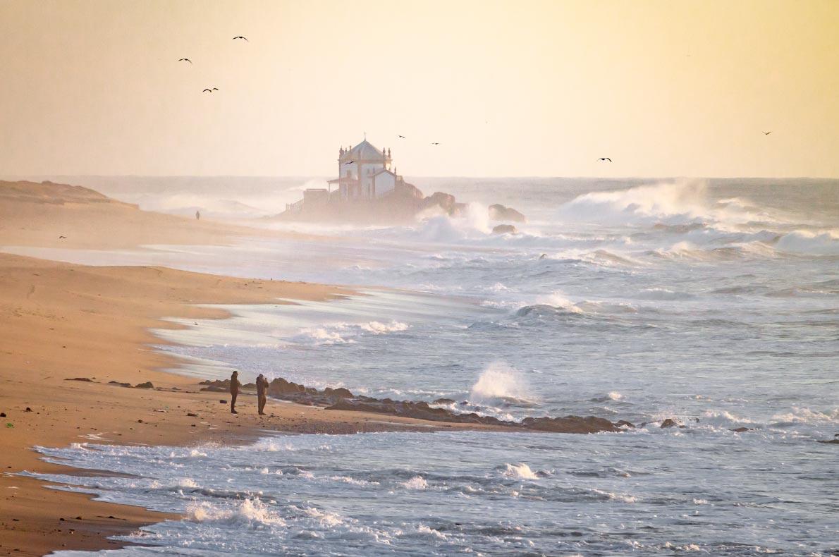 Best beaches in Portugal - Capela do Senhor da Pedra copyright  Renato Martinho  - European Best Destinations