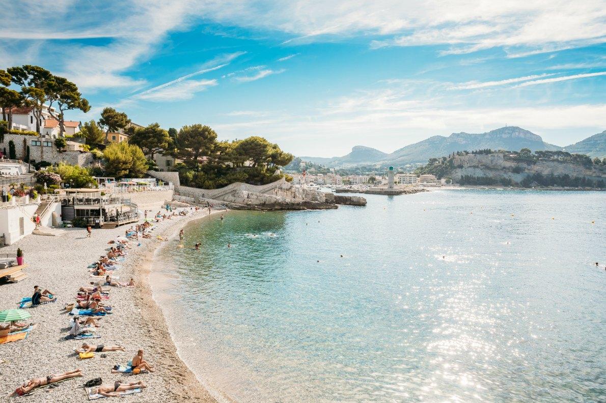Best beaches in France - Bestouan beach in cassis copyright Grisha Bruev - European Best Destinations