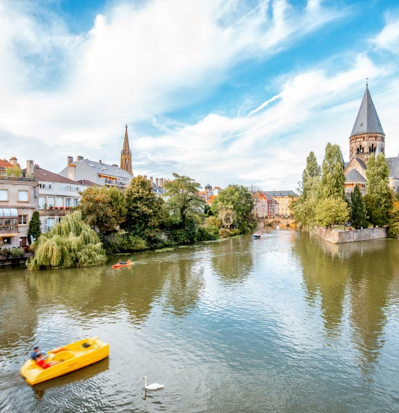Metz-romantic-destination-France
