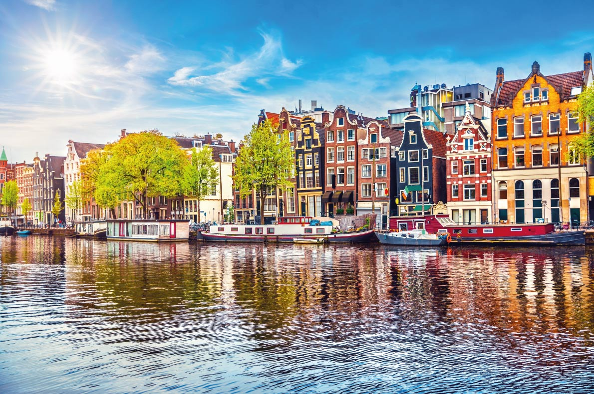 Quietest destinations in Europe -  Amsterdam Copyright  Yasonya