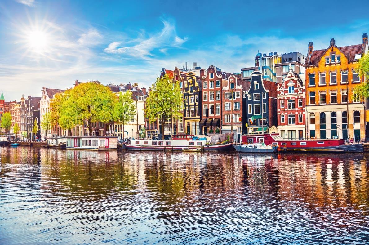 Quietest destinations in Europe -  Amsterdam Copyright  Yasonya