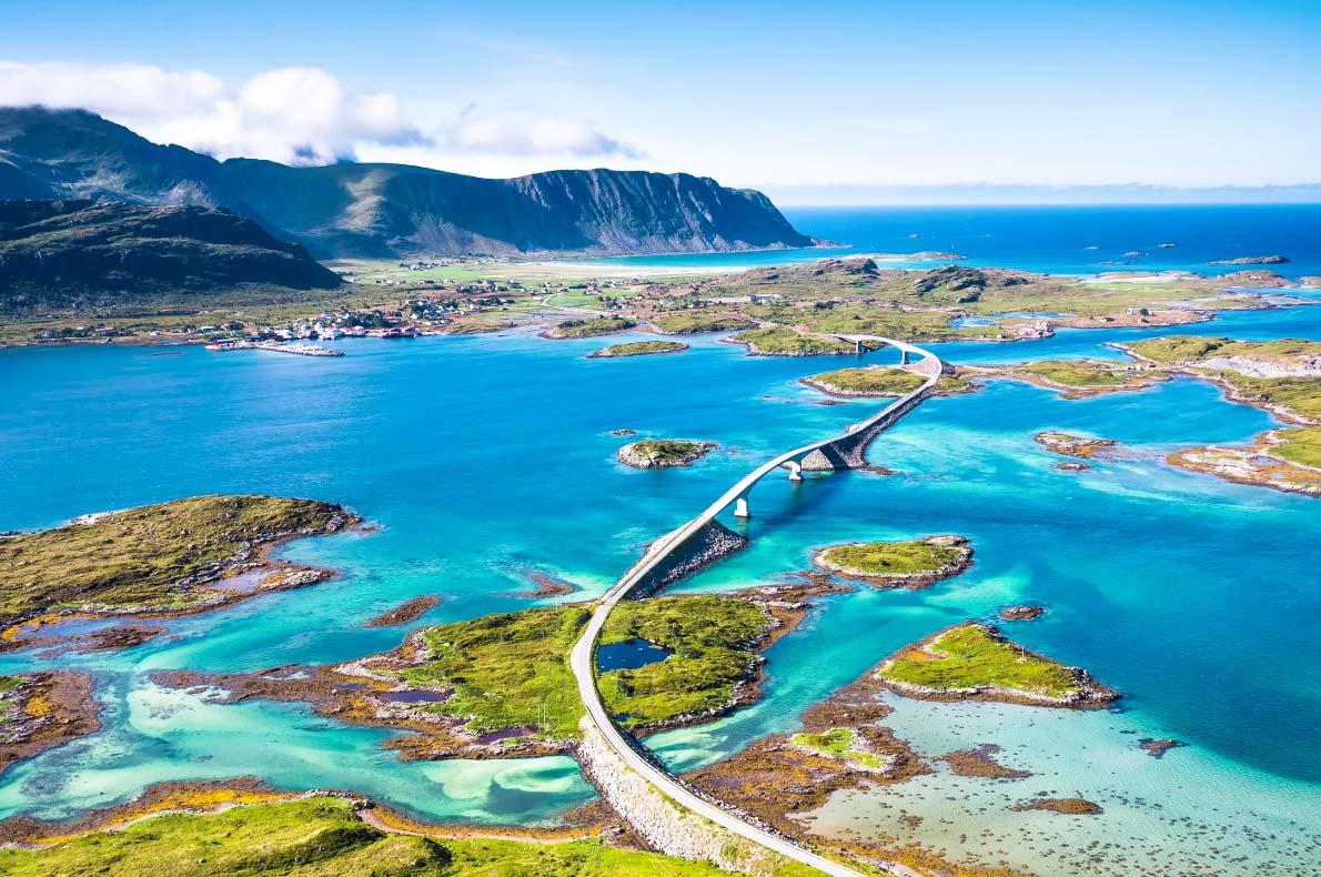 Atlantic Road - Melhores viagens rodoviárias na Europa